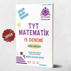 tyt matematik deneme çöz kazan yayınları