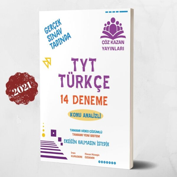 tyt türkçe deneme çöz kazan yayınları