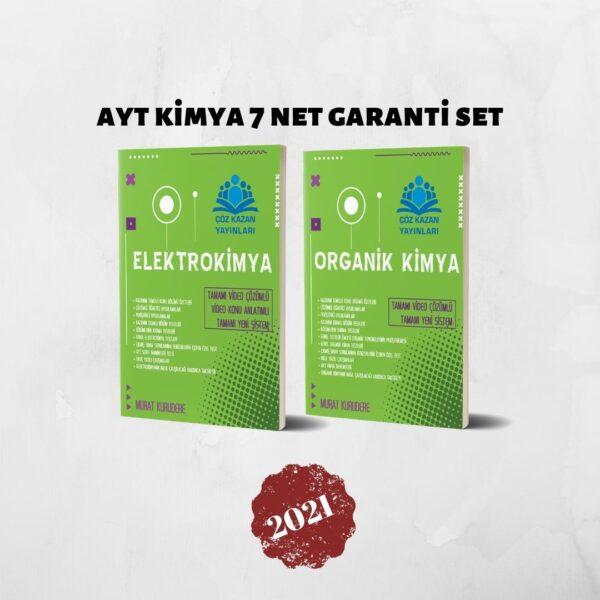 elektrokimya ve organik kimya ayt kimya 7 net garanti set