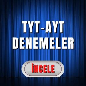 TYT-AYT Denemeler